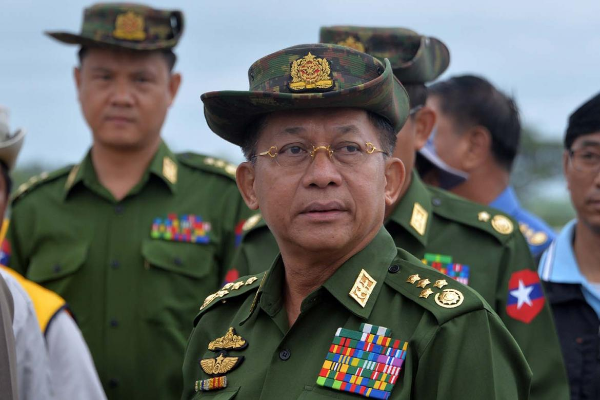 Myanmar says military 'dignity' harmed by US ban on army chief | Frontier  Myanmar