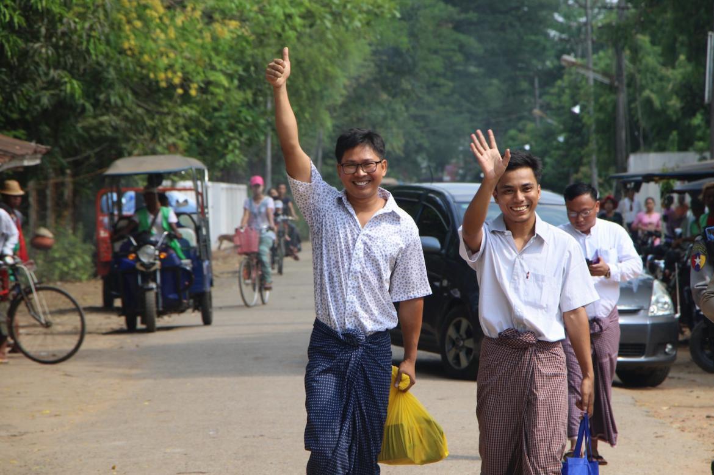 wa-lone-kyaw-soe-oo-among-6520-prisoners-freed-in-presidential-pardon-1582196540