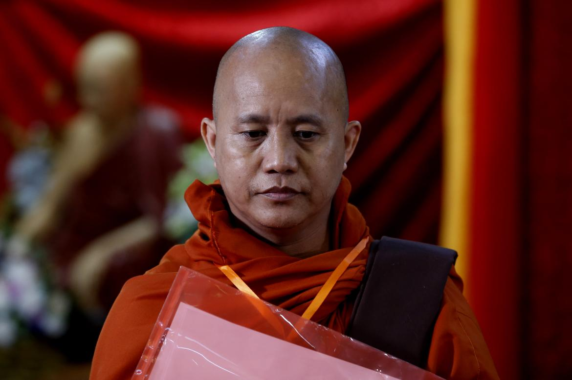 Wirathu banned from sermons after celebrating U Ko Ni assassins | Frontier  Myanmar
