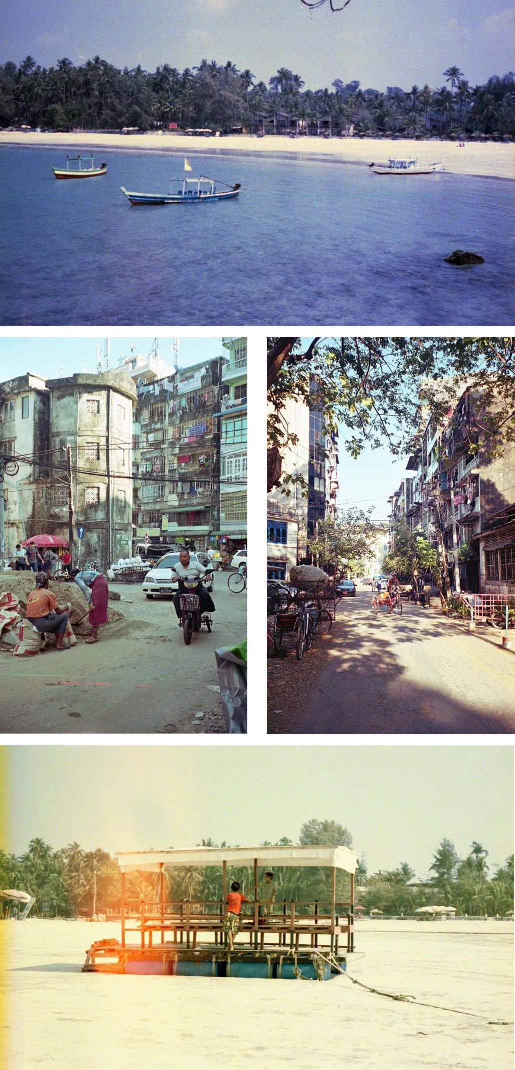 Analogue photographs taken in Myanmar by Tanvi Riise