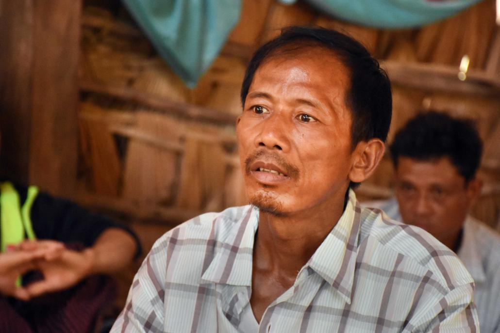 U Thein Myint is a resident of Yadanaw Pon village, one of several in the Lenya River area that could face closure. (Steve Tickner | Frontier)