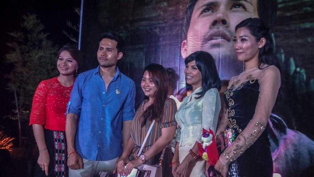 Fans get the chance to meet the stars of Mudras Calling in Yangon (Kyaw Lin Htoon | Frontier)