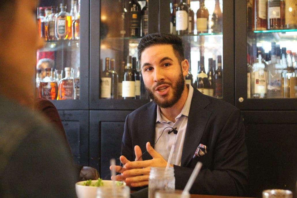 Mr Abdullah Hammoud, a Democrat who sits in Michigan's House of Representatives, says campaigning for the Rohingya is simply about standing up for justice. (Thomas Kean | Frontier)