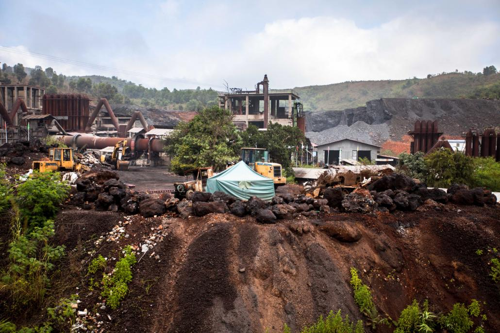 The Bawdwin mine, located in northern Shan State's Namtu Township, was once of the world's largest source of lead, but today production there has largely ground to a halt. (Theint Mon Soe aka J | Frontier)