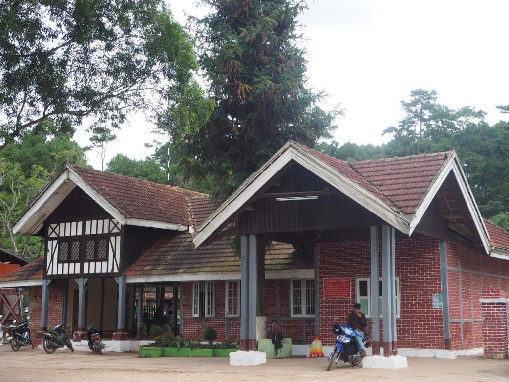 The Yangon Heritage Trust last year sent two architects to Kalaw to draft renovation guidelines for the town's mock-Tudor railway station (pictured) and post office. (Ben Dunant | Frontier)
