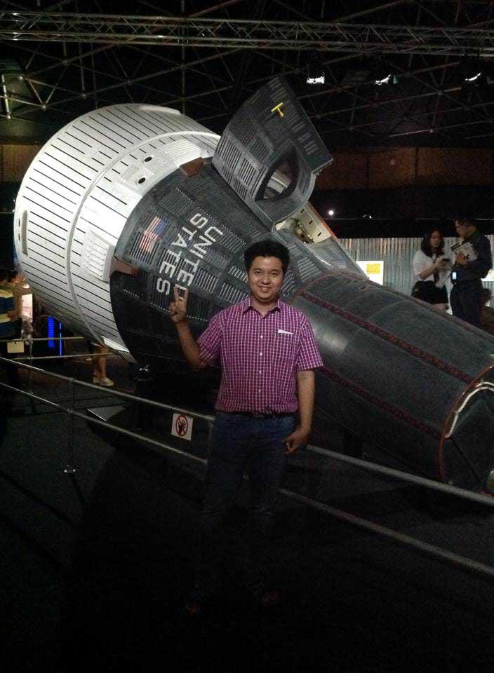 Dr Thant Htoo Aung is trying to encourage more people in Myanmar to take up astronomy. (Supplied)