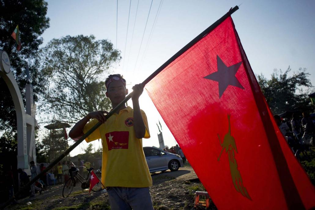 The NLD has already ruled out an alliance with ethnic parties in the 2020 election and will seek to replicate its strong showing in 2015. (AFP)