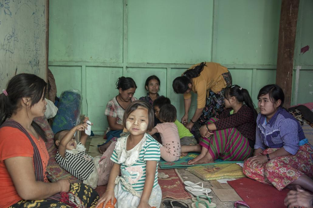 People displaced by the recent violence in northern Shan State (Katrin Schregenberger | Frontier)