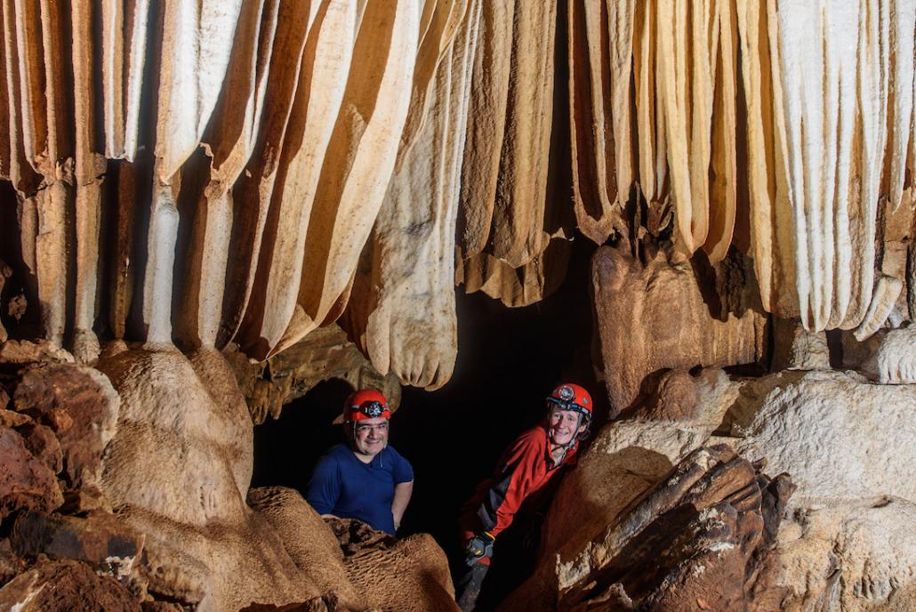 The Red River Cave in Kayah State's Bawlakhe Township is around 4.1 kilometres long. It was only documented in 2015 and features a large river, about 15-20 metres wide and up to 3 metres deep (Johannes Lundberg)