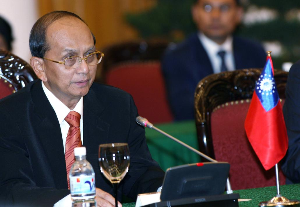 Former army general U Thein Sein, who oversaw significant reforms between 2011 and 2016 (AFP)