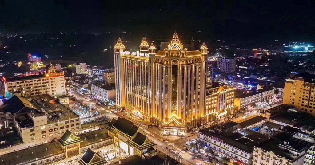 Laukkai is already home to around 30 casinos and 50 hotels, none of which are licensed by Nay Pyi Taw. (Photo | Fully Light Golden Triangle Media)