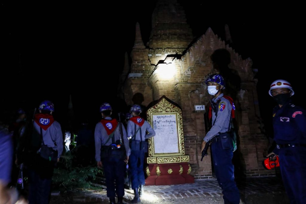 With hotels left empty, there was a spate of break-ins at temples across Bagan in early June. (Nyein Su Wai Kyaw Soe | Frontier)