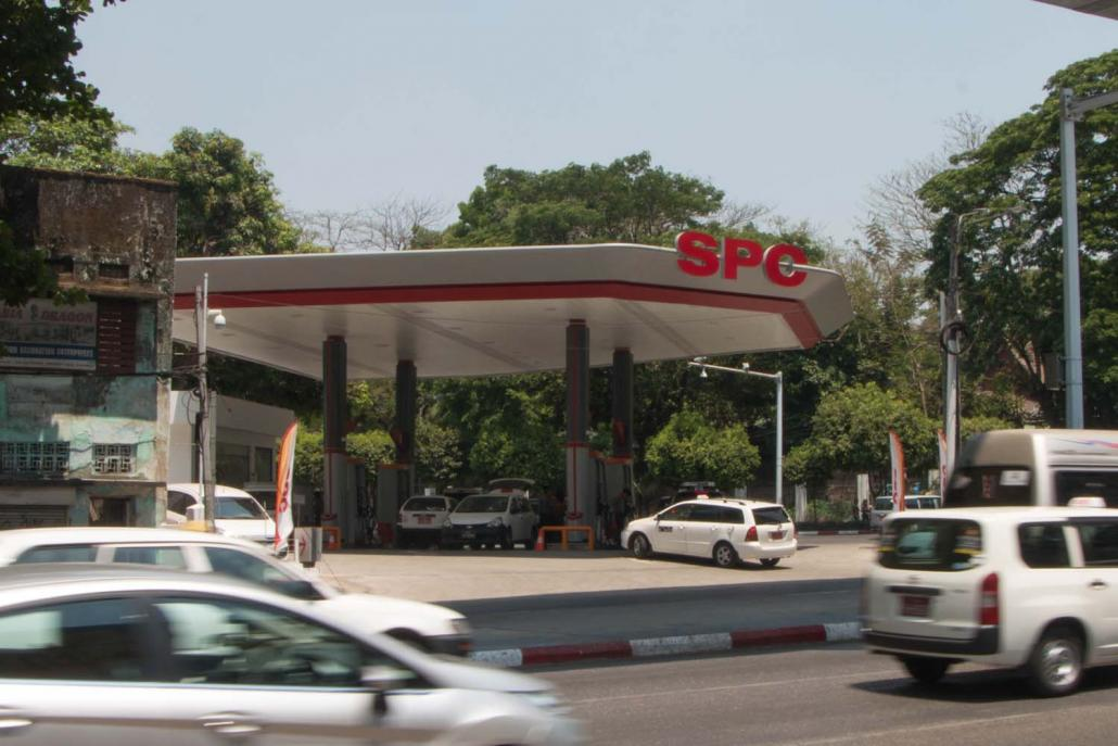 The SPC outlets will sell fuel imported direct from the company's Singapore terminal. (Thuya Zaw | Frontier)