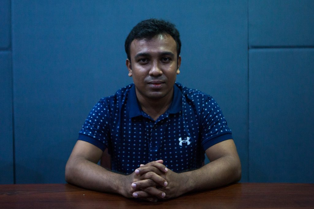 "Rohingya freelance researcher Ko Myo Min says Myanmar is ""still largely a military dictatorship"". (Thuya Zaw 