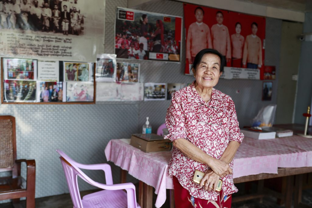 Dr Khin Sithu, the National League for Democracy's Pyithu Hluttaw representative for Loikaw. (Nyein Su Wai Kyaw Soe | Frontier)