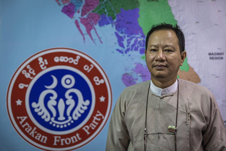 Arakan Front Party vice chair U Kyaw Zaw Oo says