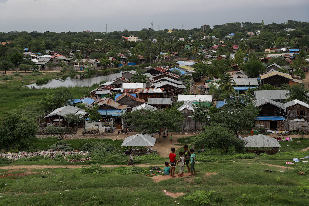 Between 30,000 and 40,000 Muslims live in Meiktila Township, a stronghold of Buddhist nationalism in Mandalay Region. Seven years after anti-Muslim arson and violence ravaged the town, many Muslims are still left without permanent housing. (Nyein Su Wai Kyaw Soe | Frontier)