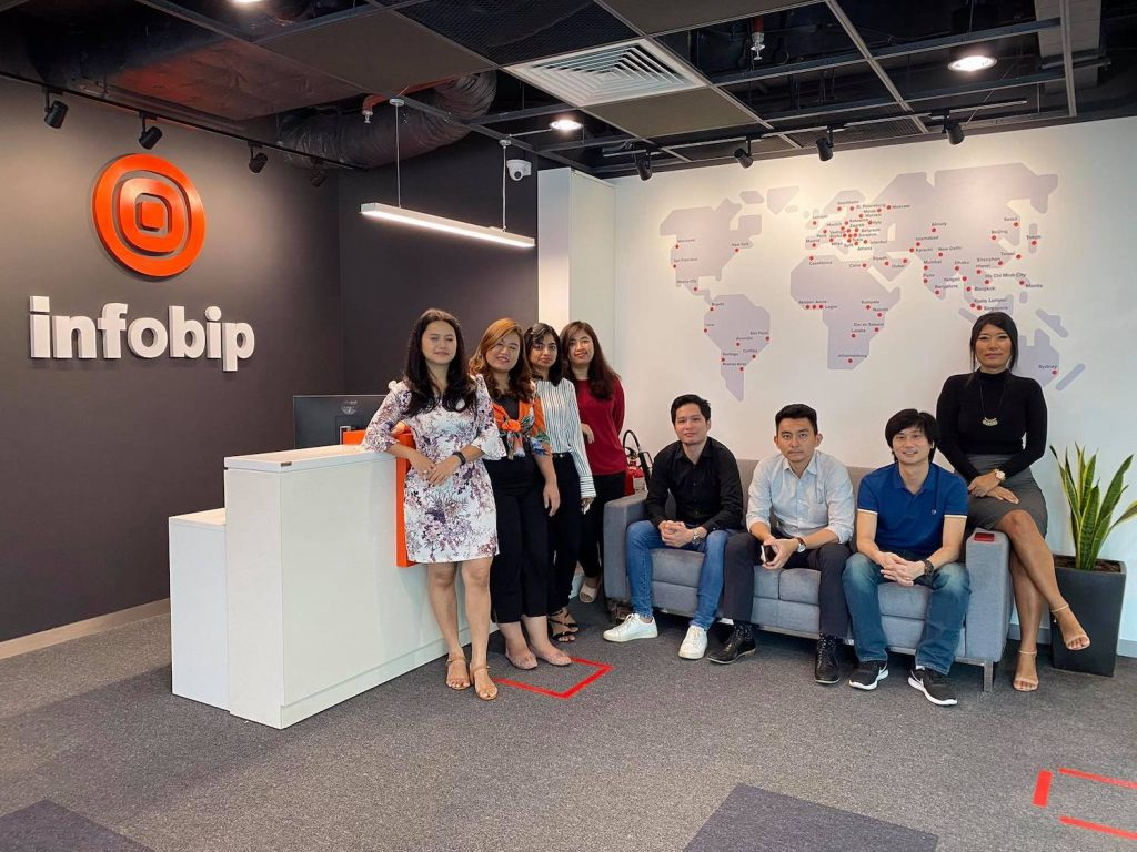 The Infobip team. (Supplied)