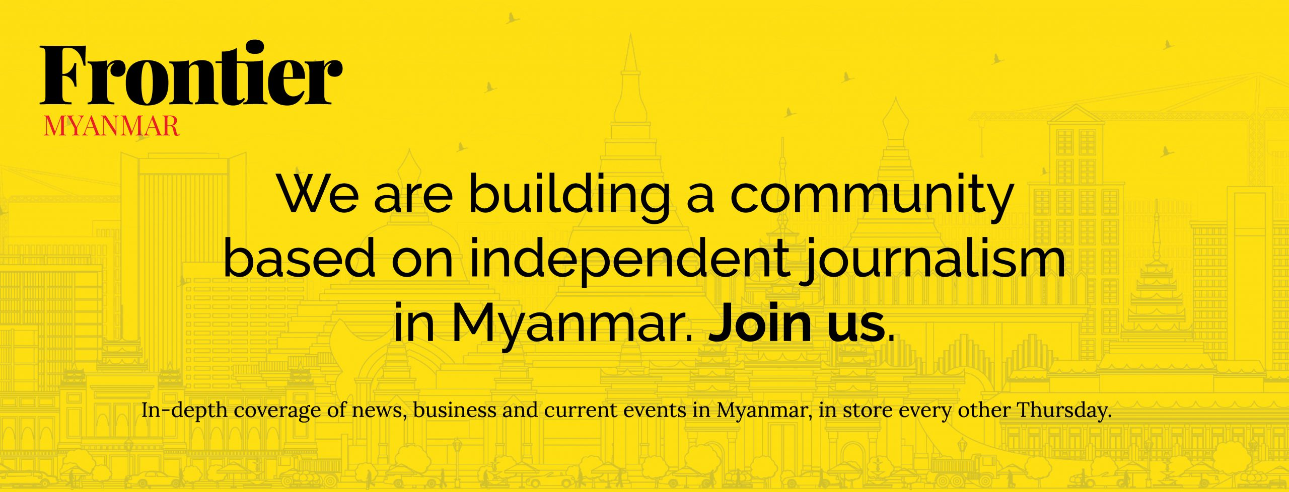 Frontier Myanmar Membership Cover Photo for Facebook