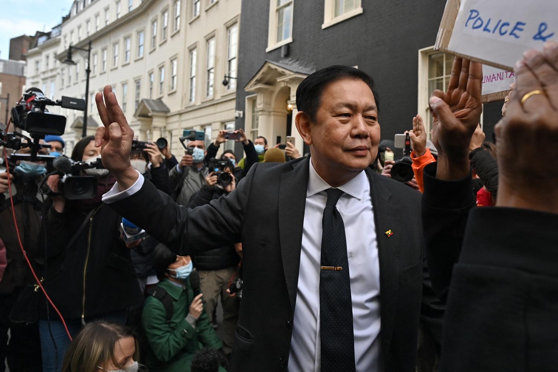Ambassador to UK Kyaw Swar Minn