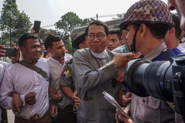 aye-maung-faces-court-in-sittwe-after-mrauk-u-riots-1582210309
