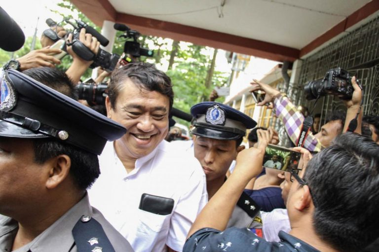 eleven-media-ceo-chief-editor-taken-to-insein-on-defamation-charges-1582189917