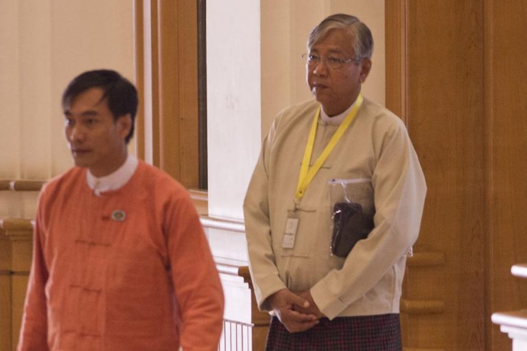 hluttaw-vote-confirms-htin-kyaw-presidency-1582194023