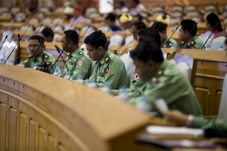 parliament-halts-discussion-on-rakhine-after-military-objection-to-dictator-remarks-1582215628