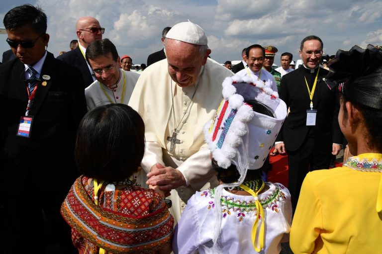 pope-arrives-in-myanmar-on-high-stakes-visit-1582212647
