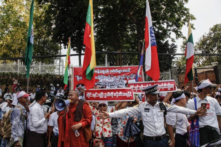 u-parmaukha-denied-bail-over-anti-rohingya-protest-at-american-embassy-1582213218