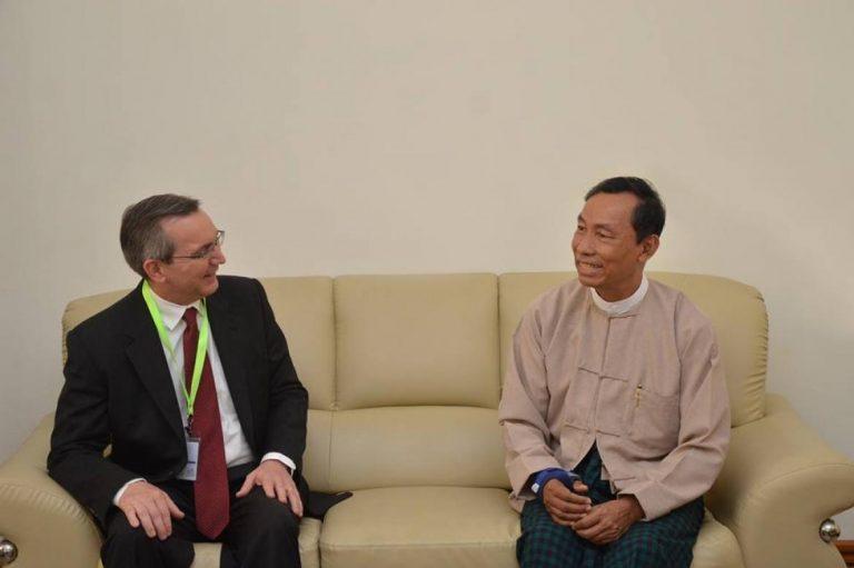 us-ambassador-meets-with-shwe-mann-over-rohingya-fracas-1582225935